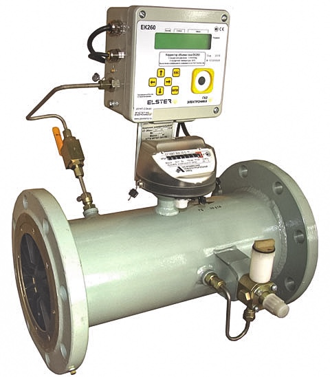 Комплекс для измерения количества газа СГ-ЭК-Т-1600/1,6 Ду=150мм (TRZ G1000)